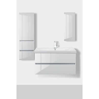 Cutler Kitchen and Bath Sangallo Gloss Vanity - Vanity Connection