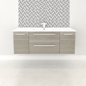 Cutler Kitchen and Bath Silhouette Wall Hung Vanity - Vanity Connection