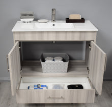 "Load image into Gallery viewer, Volpa USA Pacific 36"" Modern Bathroom Vanity MTD-3136"
