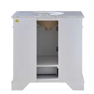 "Silkroad Exclusive 36"" Single Sink Bathroom Vanity - HYP-0212 - Vanity Connection"