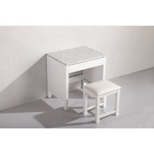 Load image into Gallery viewer, Design Element Make up Table- White MUT-W - Vanity Connection