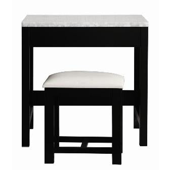 Design Element Make-Up Table Espresso MUT - Vanity Connection