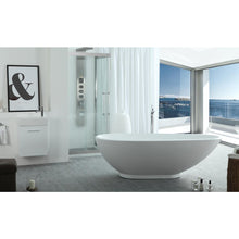 "Load image into Gallery viewer, Legion Furniture 75"" White Acrylic Tub WE6848-J - Vanity Connection"