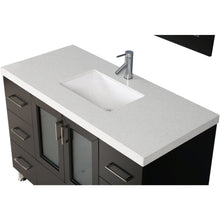"Load image into Gallery viewer, Design Element Westfield 48"" Single Sink Vanity Set in Espresso WF-48 - Vanity Connection"