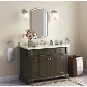 "Lanza Bryon 48"" Vanity with Backsplash WF6976-48 - Vanity Connection"