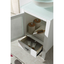 "Load image into Gallery viewer, Legion Furniture 18.5"" Wood Sink Vanity with Glass Top WH5518 - Vanity Connection"