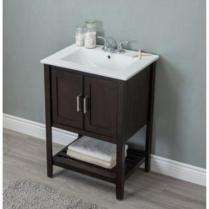 "Legion Furniture WLF Series 24"" Sink Vanity WLF-6020 - Vanity Connection"