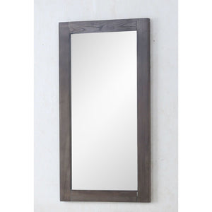 "Legion Furniture 16"" Weathered Grey Mirror WLF7021-18-M"