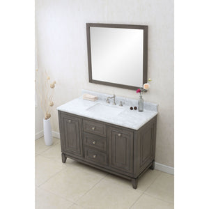 "Legion Furniture 48"" Silver Grey Sink Vanity WLF7034-48"