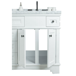 "Legion Furniture 60"" Solid Wood Sink Vanity With Mirror And Faucet WS2060 - Vanity Connection"