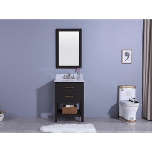 Legion Furniture Marhill Sink Vanity with Mirror WT7124 - Vanity Connection