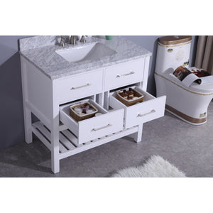 Legion Furniture Alton Sink Vanity with Mirror WT7136 - Vanity Connection