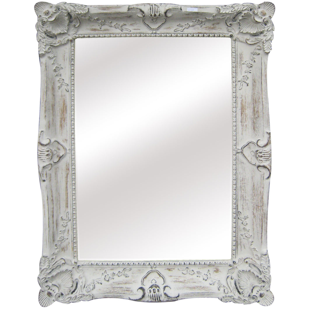 Legion Furniture Mirror Antique White LF161