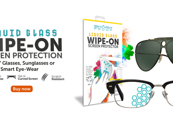 SP4 Glasses, Sunglasses, Goggles and Visor Liquid Glass Protector