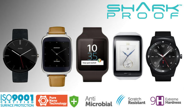 SMART WATCHES AND SHARK PROOF ARE MEANT TO BE TOGETHER!