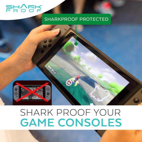 Liquid Glass Wipe On Scratch, Liquid, Germs Resistant Screen Protection for ALL Phones, Tablets, Consoles & More - Shark Proof