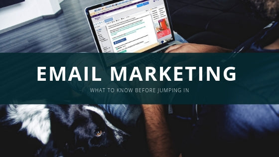 Email marketing product banner