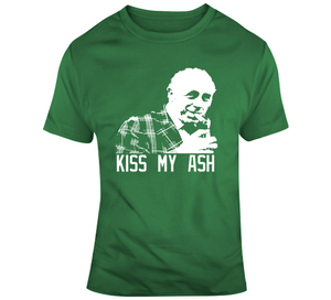 Red Auerbach Legendary Basketball Kiss My Ash Coach T Shirt