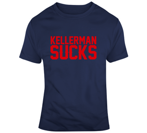 Max Kellerman Sucks New England Football Fan T Shirt