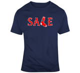 Chris Sale Ace Distressed Boston Baseball Fan T Shirt