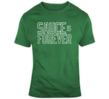 Sauce Is Forever Kyrie Irving Boston Basketball Fan T Shirt