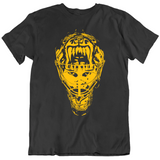 Tuuka Rask Goalie Mask Silhouette Boston Hockey Fan T Shirt
