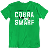 Marcus Smart The Cobra Smarf Boston Basketball Fan Green T Shirt