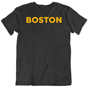 Boston Hockey Fan  T Shirt