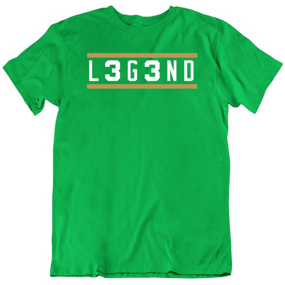 Larry Bird L3g3nd Legend Boston Basketball Fan T Shirt