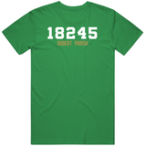 Robert Parish Career Points Boston Basketball Fan T Shirt