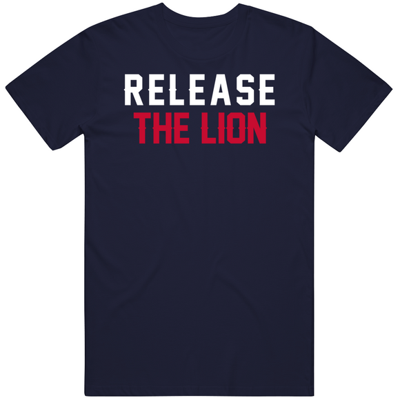 Chase Winovich Release The Lion New England Football Fan T Shirt