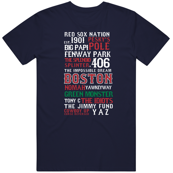 The Legend Of Boston Banner Boston Baseball Fan V3 T Shirt