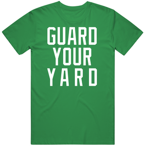 Marcus Smart Guard Your Yard Boston Basketball Fan V2 T Shirt