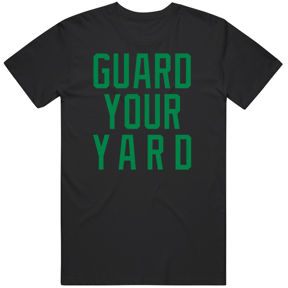 Marcus Smart Guard Your Yard Boston Basketball Fan V4 T Shirt