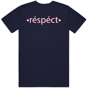 Cam Newton All About Respect New England Football Fan V2 T Shirt