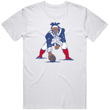 Cam Newton Retro Logo Mash Up New England Football Fan T Shirt