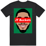 Jayson Tatum Jt Buckets Boston Basketball Fan T Shirt