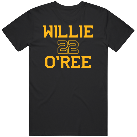 Willie O'ree 22 Pioneer Boston Hockey Fan T Shirt