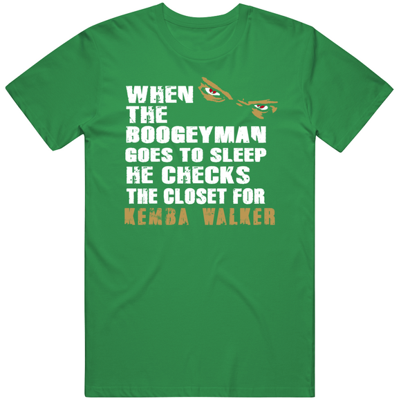 Kemba Walker Boogeyman Boston Basketball Fan T Shirt