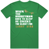 Larry Bird Boogeyman Boston Basketball Fan T Shirt