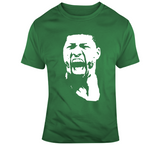 Boston Basketball Marcus Smart Big Head Silhouette Fan T Shirt