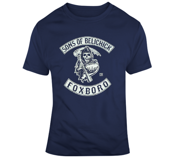 Bill Belichick Coach Sons Of Belichick New England Football Fan T Shirt