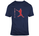 Pumpsie Green Silhouette Boston Baseball Fan T Shirt