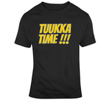 Tuukka Rask Tuukka Time  Boston Hockey Fan T Shirt