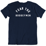 Fear The Boogeymen New England Defense Football Fan T Shirt