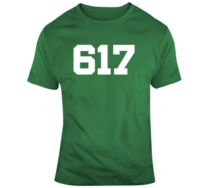 Boston Area Code Boston Basketball Fan T Shirt