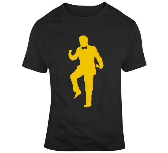 Boston Rene Rancourt Silhouette Fist Pump Hockey Fan T Shirt