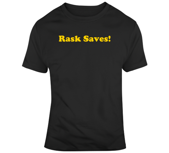 Rask Saves Tuukka Rask Boston Hockey Fan T Shirt