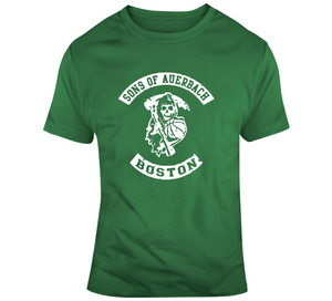 Red Auerbach Sons Of Auerbach Boston Basketball Fan T Shirt
