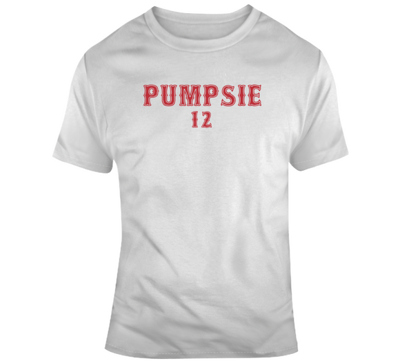 Pumpsie Green 12 Legend Boston Baseball Fan T Shirt